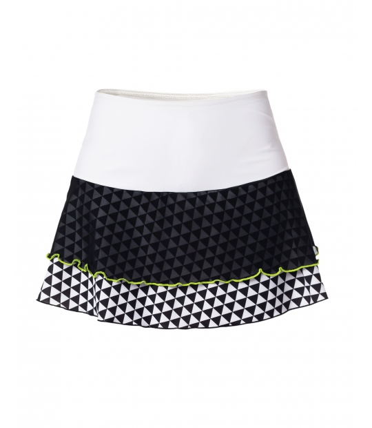 TENNIS SKIRT IDAWEN B&W SKIRTS SPORTS CE IDAWEN - Woman and