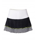 FALDA DEPORTE BLANCA Y NEGRA - SKIRTS SPORTS - IDAWEN fashion