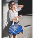 WOMEN TENNIS BAG ORANGE AND BLUE TENNIS BAGS - Moda Athleisure