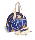 PADEL BAG ORANGE AND BLUE Home - Moda Athleisure