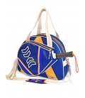 PADEL BAG ORANGE AND BLUE PADDLE BAGS CE IDAWEN - Woman and