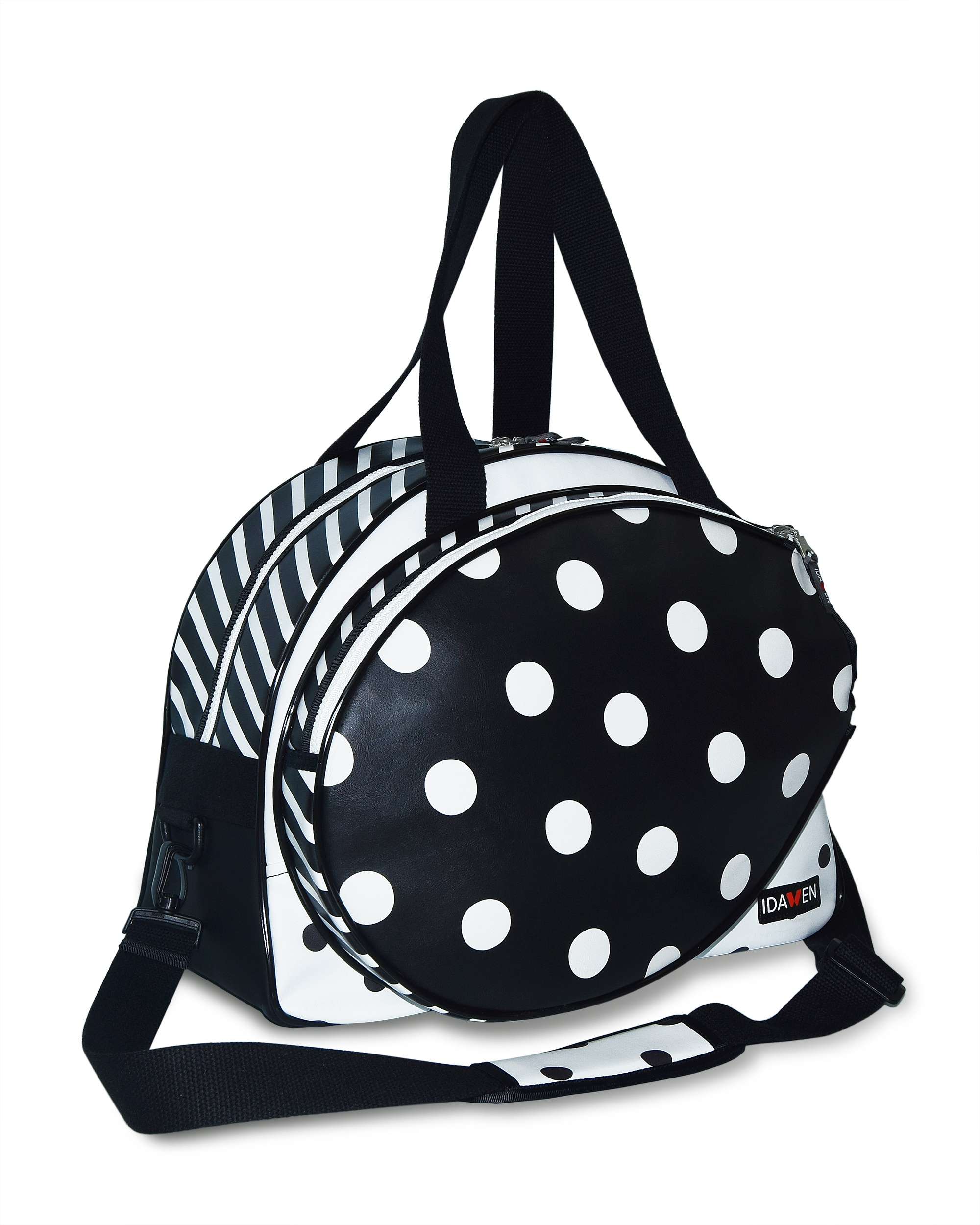 Women Tennis Bag Polka Dots Bags Ce Idawen Woman And
